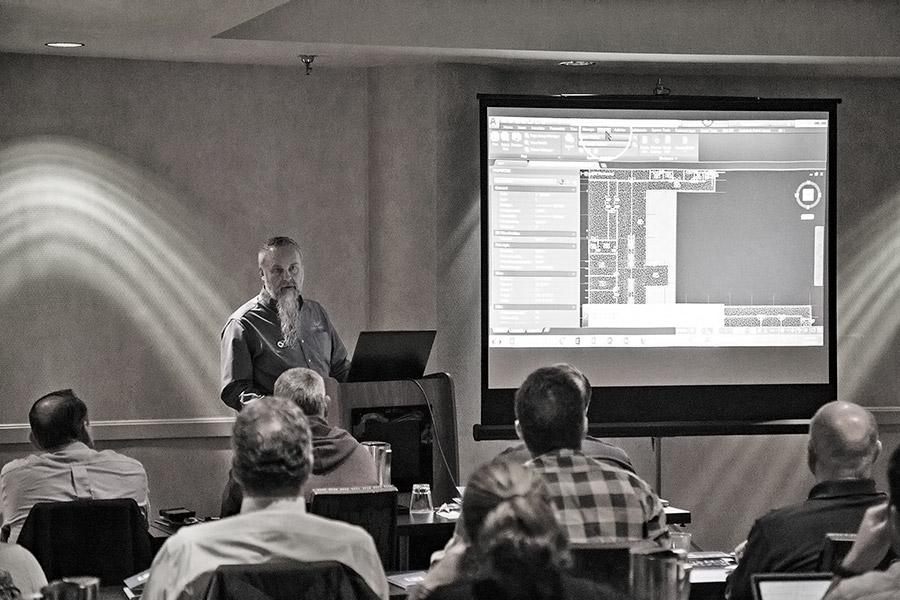 Tim Kramer Addressing Questions