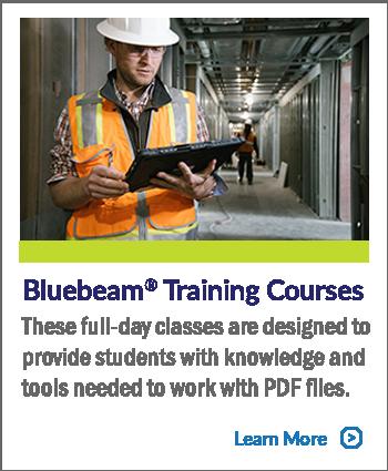 Bluebeam Training Courses