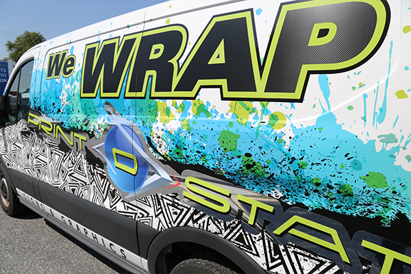 Image of the Print-O-Stat Signs & Graphics We Wrap Transit Vehicle