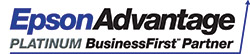 Logo - Epson Advantage Business First Platinum Partner